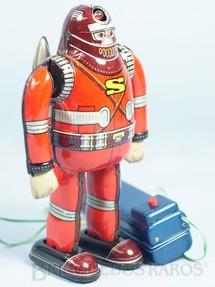 1. Brinquedos antigos - T.N. - Robot Astronaut S-Man com 15,00 Cm de altura completo Perfeito estado Ano 1960