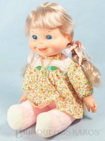 1. Brinquedos antigos - Estrela - Boneca Farofinha da Turma do Feijãozinho com 28,00 Cm de altura Ano 1979