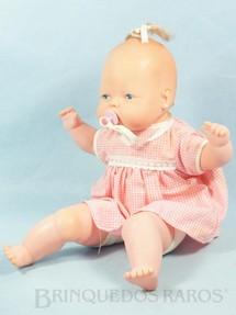 1. Brinquedos antigos - Trol - Boneca Betina Bebê com Chupeta 33,00 Cm de altura Década de 1970