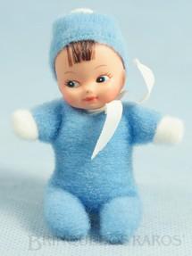 1. Brinquedos antigos - Estrela - Boneca Miudinha mesmo tamanho da Fofolete 8,00 Cm de altura Olhos pintados Década de 1980