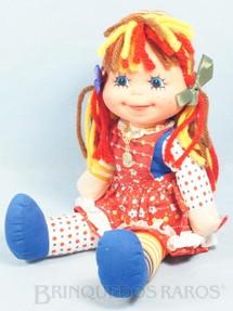 1. Brinquedos antigos - Estrela - Boneca Emília Sítio do Pica Pau Amarelo com 32,00 Cm de altura Ano 1982