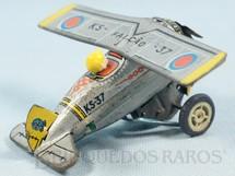 1. Brinquedos antigos - Estrela - Avião Acrobata Falcão Versão com Piloto e rodas de Autorama Ano 1971