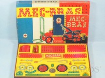 1. Brinquedos antigos - Estrela - Conjunto de Montar Mec-Bras caixa 9107 completa perfeito estado Ano 1967