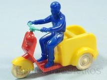 1. Brinquedos antigos - Mirim - Triciclo Lambreta de Entregas com 11,00 cm de comprimento Década de 1960