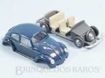 1. Brinquedos antigos - Wiking - Volkswagen Sedan 1962 com 10,00 cm de comprimento Completo Década de 1960
