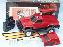 1. Brinquedos antigos - Estrela - Caminhonete Colossus com 43,00 cm de comprimento Completa com Manual de Instruções Perfeito estado Adesivos ainda por colar Ano 1985