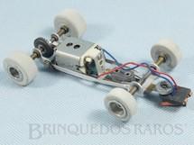 1. Brinquedos antigos - Estrela - Mecânica completa para carros Lutus 72 e McLaren Série Emerson Fittipaldi com Chassi Motor Eixos Rodas etc Década de 1980