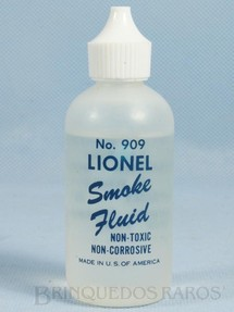 1. Brinquedos antigos - Lionel - Líquido de fumaça Lionel Smoke Fluid Ano 1957 a 1968