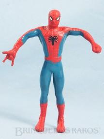 1. Brinquedos antigos - Brastaifa - Homem Aranha com 15,00 cm de altura Década de 1980