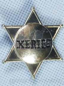 1. Brinquedos antigos - Estrela - Estrela de Xerife Sheriff Star Década de 1970