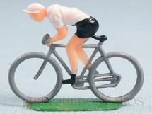 1. Brinquedos antigos - Sem identificação - Bicicleta de corrida com ciclista 4,5 cm de altura Década de 1960
