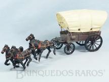 1. Brinquedos antigos - Casablanca e Gulliver - Carroça Gulliver Coberta com quatro cavalos Ano 1975