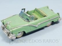 1. Brinquedos antigos - Haji - Ford Victoria 1955 Conversível com 19,00 cm de comprimento Década de 1950