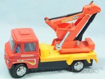 1. Brinquedos antigos - Glasslite - Caminhão Mercedes Benz 610 GL com 24,00 cm de comprimento Mercedinho Glasslite Versão Escavadeira Década de 1980