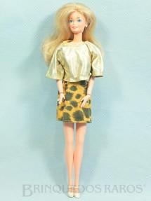 1. Brinquedos antigos - Estrela - Boneca Barbie Pulsos móveis Ano 1987