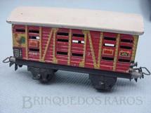 1. Brinquedos antigos - Marklin - Vagão transporte de galinhas Década de 1950