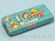 1. Brinquedos antigos - Metalma - Carro Didi com 6,00 cm de comprimento Década de 1970