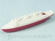 1. Brinquedos antigos - Beija Flôr - Navio Apito com 10,00 cm de comprimento Década de 1960