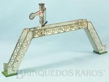 1. Brinquedos antigos - Sem identificação - Passarela com sinaleiro de linha 28,00 cm de altura Bitola O Década de 1930