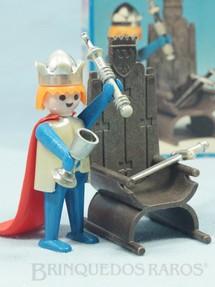 1. Brinquedos antigos - Trol - Playmobil Rei Arthur completo Década de 1980