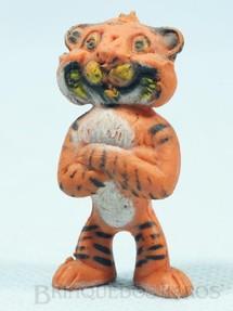 1. Brinquedos antigos - Sem identificação - Tigre da Esso com 4,00 cm de altura Década de 1960