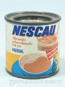 1. Brinquedos antigos - Sem identificação - Lata de Nescau com 5,00 cm de altura Brinde Nestlé Década de 1980