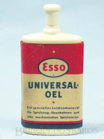 1. Brinquedos antigos - Sem identificação - Lata de óleo Esso Universal-Oel versão alemã 7,00 cm de altura Década de 1960
