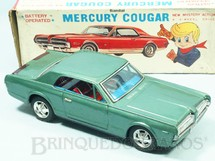 1. Brinquedos antigos - Bandai - Mercury Cougar XR7 1967 Sistema Frente e Ré Automático Pisca Pisca iluminado 26,00 cm de comprimento Década de 1970