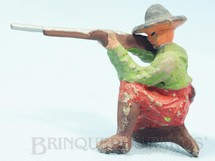 1. Brinquedos antigos - Sem identificação - Soldado Mexicano ajoelhado com fuzil