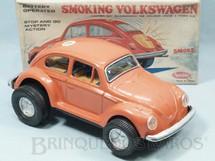 1. Brinquedos antigos - Aoshin - Volkswagen Sedan Smoking Volkswagen Sistema Bate e Volta 28,00 cm de comprimento Década de 1970