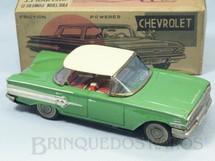 1. Brinquedos antigos - Chiro - Chevrolet Impala 1959 com 19,00 cm de comprimento Década de 1960