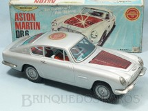 1. Brinquedos antigos - Asahi - Aston Martin DB6 motor iluminado Sistema Bate e  Volta 28,00 cm de comprimento Década de 1970