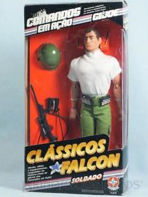 1. Brinquedos antigos - Estrela - Clássicos Falcon Soldado completo com o boneco Edição 1994