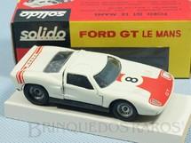 1. Brinquedos antigos - Solido-Brosol - Ford GT Le Mans vermelho e branco Fabricado pela Brosol Solido brésilienne Datado 3-1966