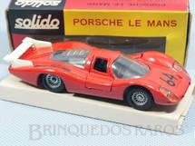 1. Brinquedos antigos - Solido-Brosol - Porsche 908 Le mans vermelho Fabricada pela Brosol Solido brésilienne Datado 11-1969