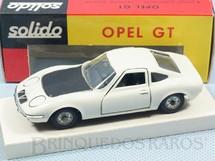1. Brinquedos antigos - Solido-Brosol - Opel GT branco Fabricado pela Brosol Solido brésilienne Datado 2-1969