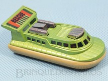 Brinquedos Antigos - Matchbox - Rescue Hovercraft Superfast chassi bege Década de 1970