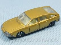 1. Brinquedos antigos - Matchbox - BMC 1800 Pininfarina Superfast Transitional Weels dourada