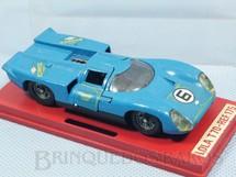 1. Brinquedos antigos - Solido-Brosol - Lola T70 MK3B azul Fabricada pela Brosol Solido brésilienne Datada 1-1970