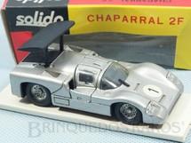 1. Brinquedos antigos - Solido-Brosol - Chaparral 2F prateado Fabricado pela Brosol Solido brésilienne Datado 5-1968