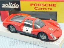 1. Brinquedos antigos - Solido-Brosol - Porsche 908 Carrera vermelho Fabricada pela Brosol Solido brésilienne Datado 05-1967