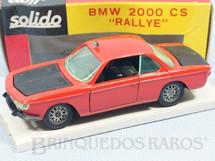 1. Brinquedos antigos - Solido-Brosol - BMW 2000 CS Rally vermelho Fabricada pela Brosol Solido brésilienne Datado 05-1968