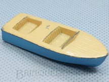 1. Brinquedos antigos - Matchbox - Lancha Meteor Boat com 6,00 cm de comprimento