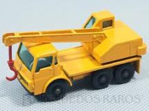 1. Brinquedos antigos - Matchbox - Guindaste Dodge Crane Truck black plastic Regular Wheels