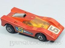 1. Brinquedos antigos - Matchbox - Hairy Hustler Superfast laranja escuro