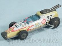 1. Brinquedos antigos - T.T. - Carro Fórmula Indy Challenger com 13,00 cm de comprimento Década de 1970