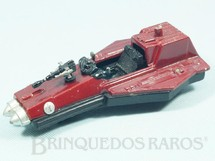 1. Brinquedos antigos - Model Trem - Nave Espacial com detalhes em Chumbo 19,00 cm de comprimento Série Novas Aventuras nas Galáxias Guerra nas Estrelas Star Wars incompleta Ano 1983
