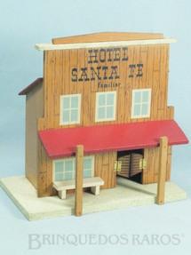 1. Brinquedos antigos - Papai Noel / Papae Noel - Hotel Santa Fé com 23,00 cm de altura Década de 1960
