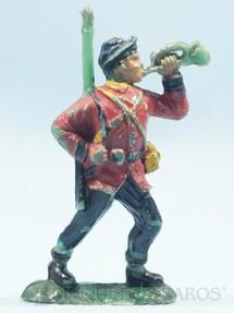 1. Brinquedos antigos - Fanabri - Corneteiro do Exército Paraguaio Batalha do Tuiutí Década de 1960