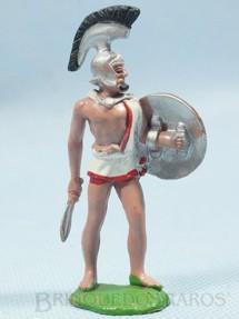 1. Brinquedos antigos - Britains - Soldado Troiano com Escudo e Espada Década de 1970